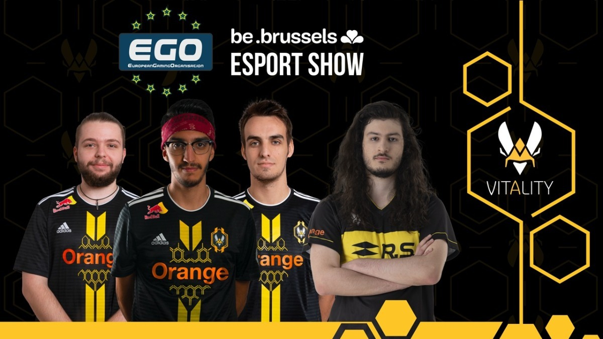 EGO Be Brussels show feat Vitality - poster